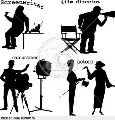Actor clipart hollywood Art clip images vector Famous!!