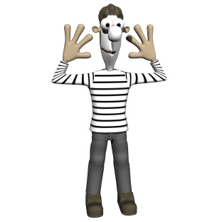 Actor clipart mime Disc 2 Factory Image View