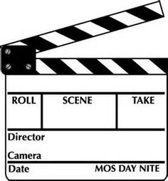 Actor clipart movie day (23+) Acting movie clip Clipart