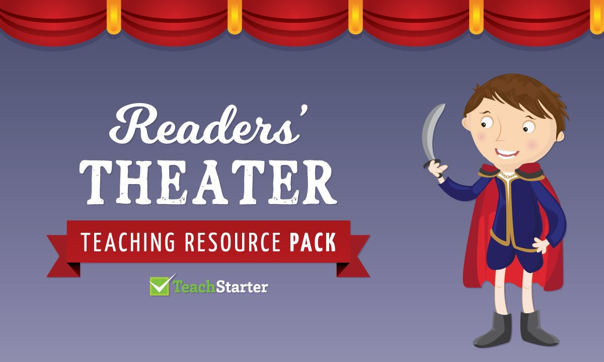 Actor clipart theater art Collection Resource Pack Teach Readers'