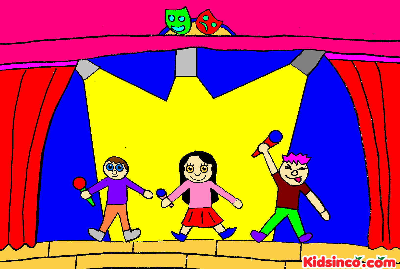 Actor clipart theater art Clip Download School Free Acting
