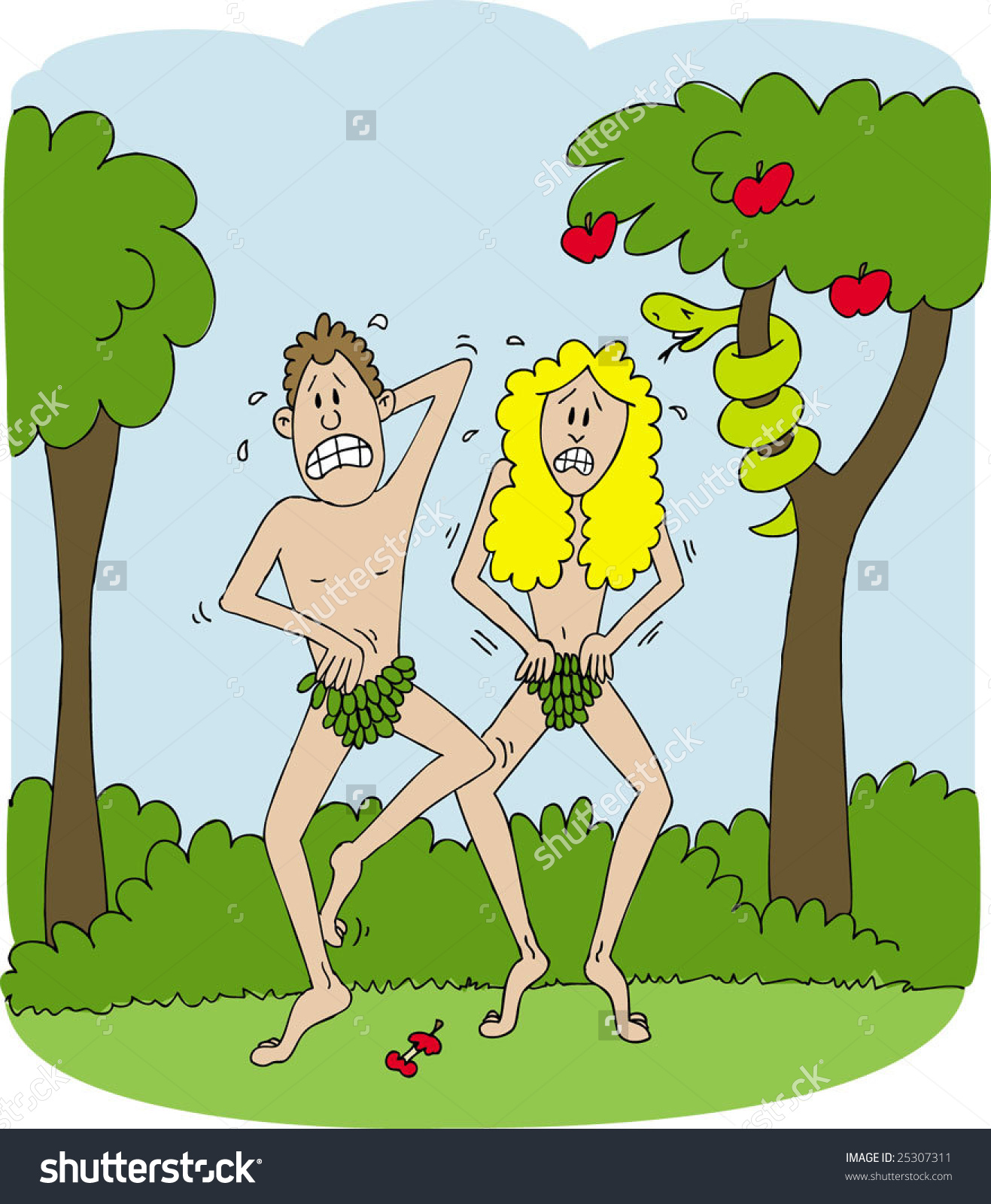Adam And Eve clipart Adam And Eve In The Garden Of Eden Clipart Eve eve in Stock garden