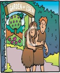 Adam And Eve clipart Adam And Eve In The Garden Of Eden Clipart Clipart eve clipart Adam eve