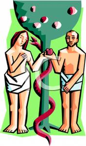Adam And Eve clipart Adam And Eve In The Garden Of Eden Clipart Depiction the Garden Garden of