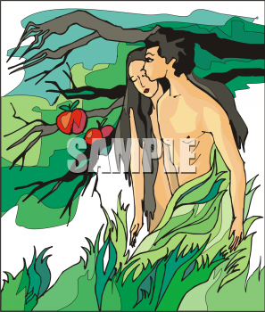 Adam And Eve clipart Adam And Eve In The Garden Of Eden Clipart Fruit: eden clipart Apple collection