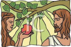 Adam And Eve clipart Adam And Eve In The Garden Of Eden Clipart And Eden Picture Royalty Eve