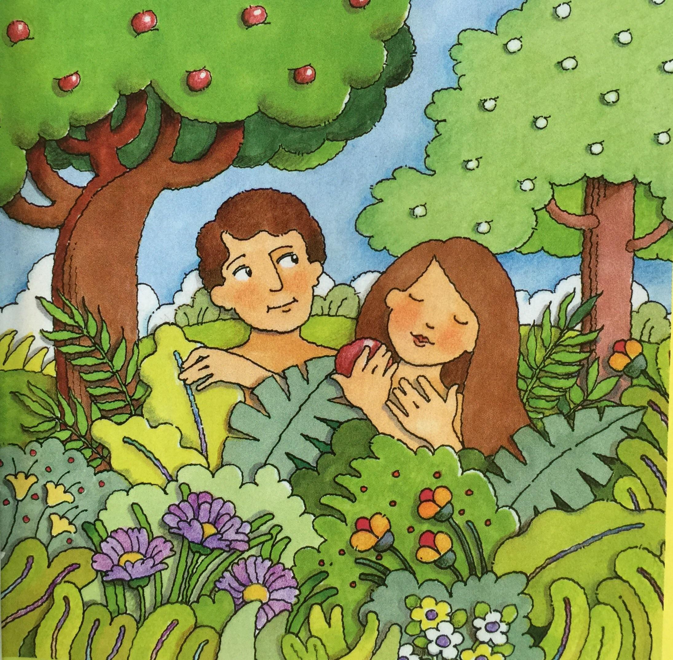 Garden Of Eden clipart lds #1