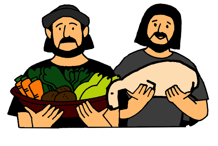 Adam And Eve clipart Cain And Abel Clipart Bible  Abel Class and