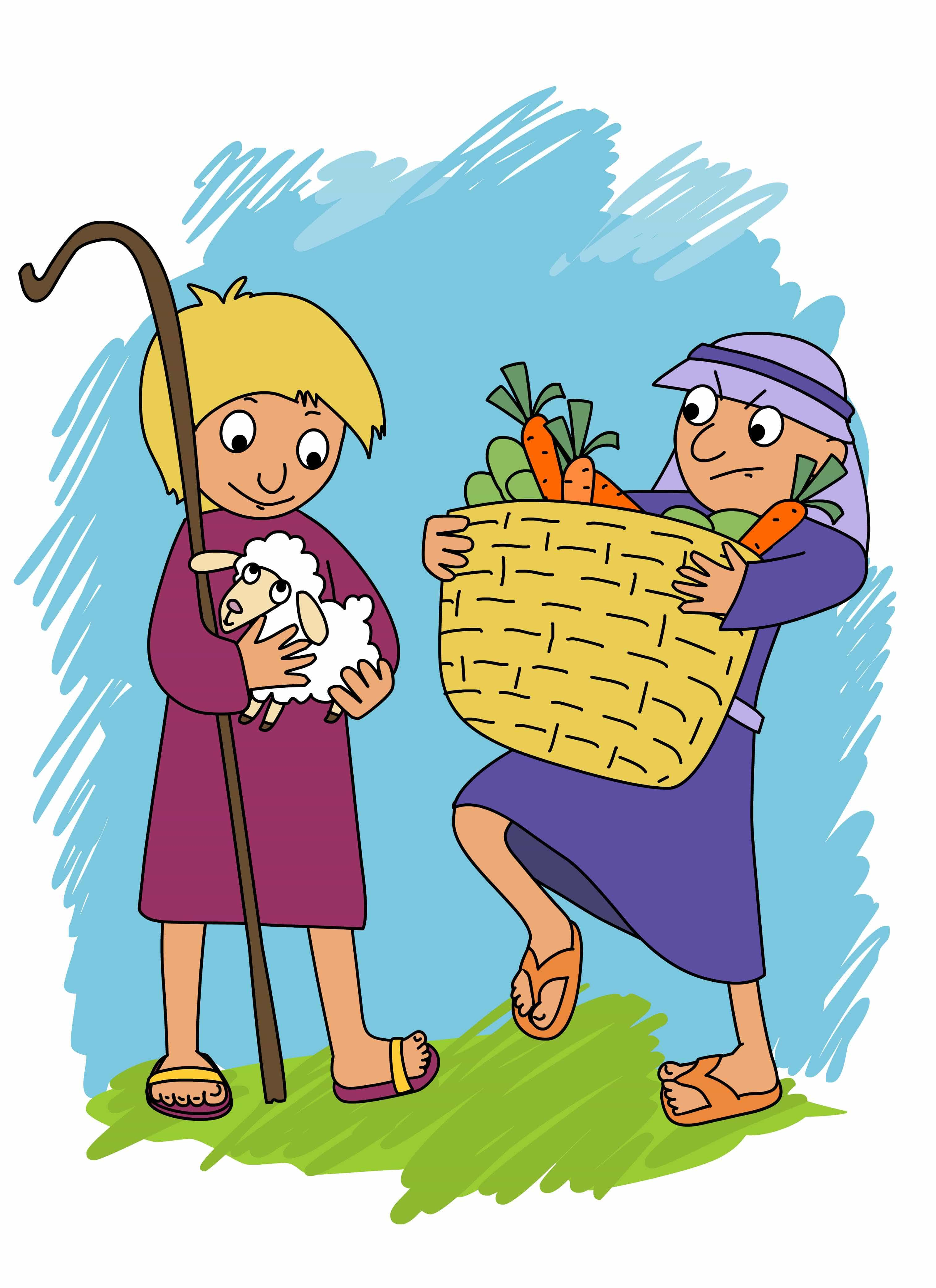 Adam And Eve clipart Cain And Abel Clipart It Eve's Adam Lesson Simple
