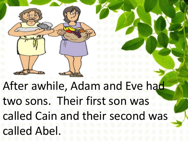 Adam And Eve clipart Cain And Abel Clipart Abel Abel and Cain