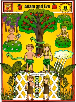 Adam And Eve clipart Adam And Eve In The Garden Of Eden Clipart And Eden Teachers Clip Eve