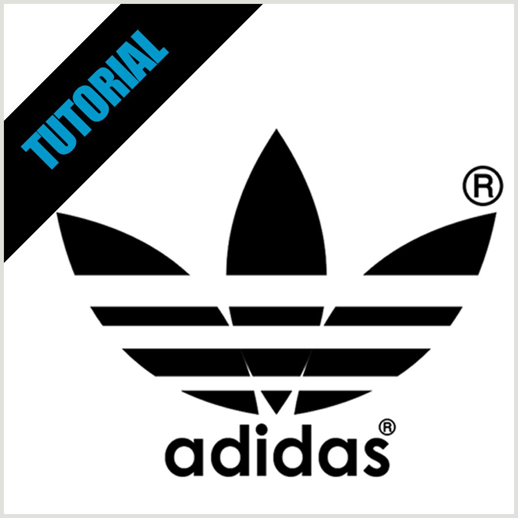 Adidas clipart corel Logo on: flavio logo 03