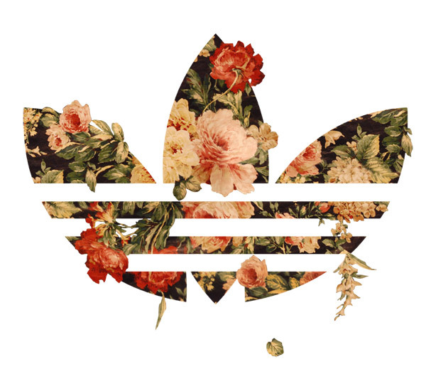 Adidas clipart floral Graphics by via Behance shirt