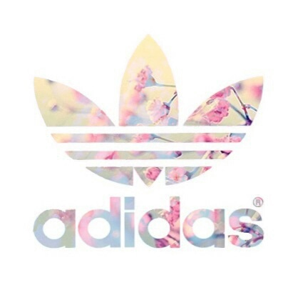 Adidas clipart floral Flowers Image adidas and Floral