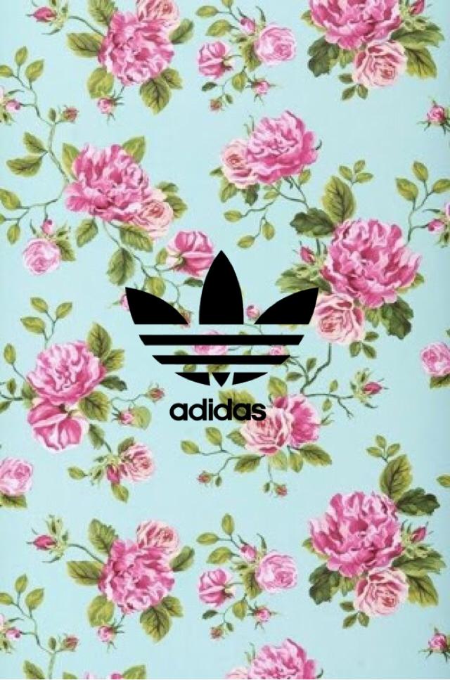 Adidas clipart floral Flower wallpaper Wallpers wallpaper and