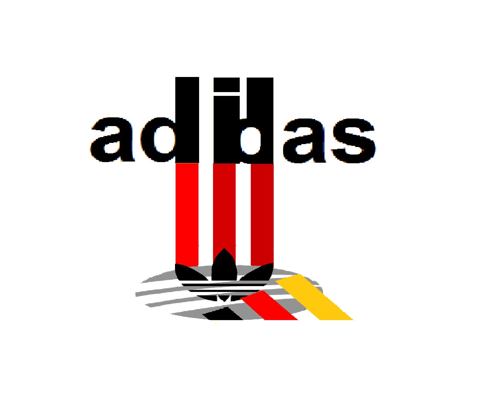 Adidas clipart logo design Adidas new swoosh design design