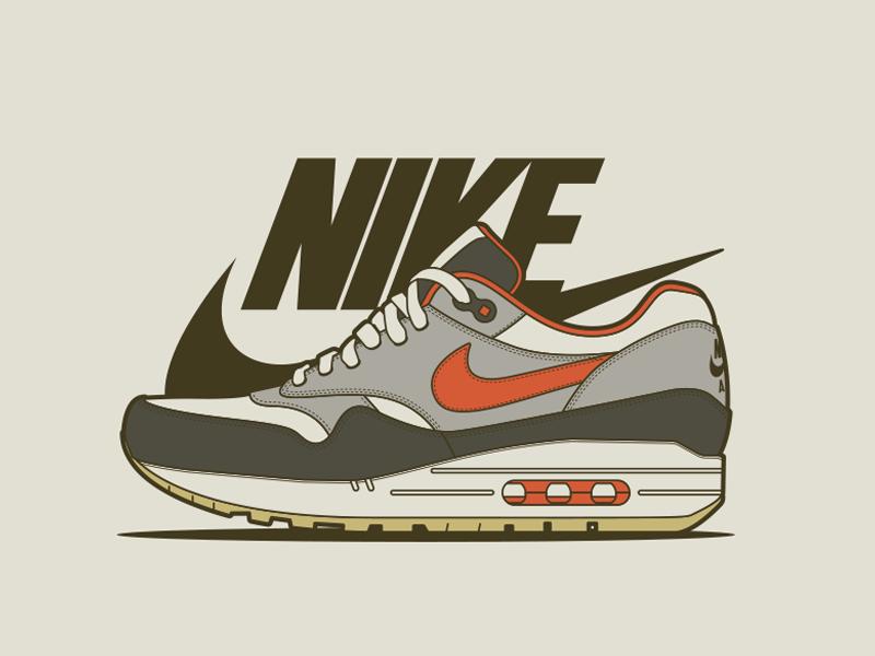 Adidas clipart nike air Nike Max Air  by