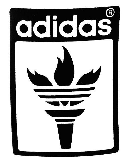 Adidas clipart old 2008 Adidas Trefoil Logo The
