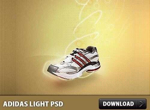 Adidas clipart psd PSD file Adidas Light Photoshop