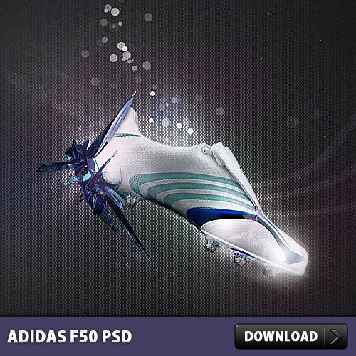 Adidas clipart psd F50 on Free Manipulation Awesome