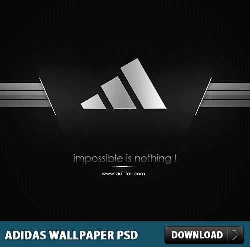 Adidas clipart psd PSD File Adidas Wallpaper Photoshop
