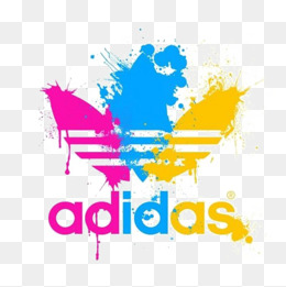 Adidas clipart psd Color Splash ADIDAS icon pngtree