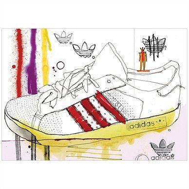 Adidas clipart school shoe Adidas illustrations 287 forest hills
