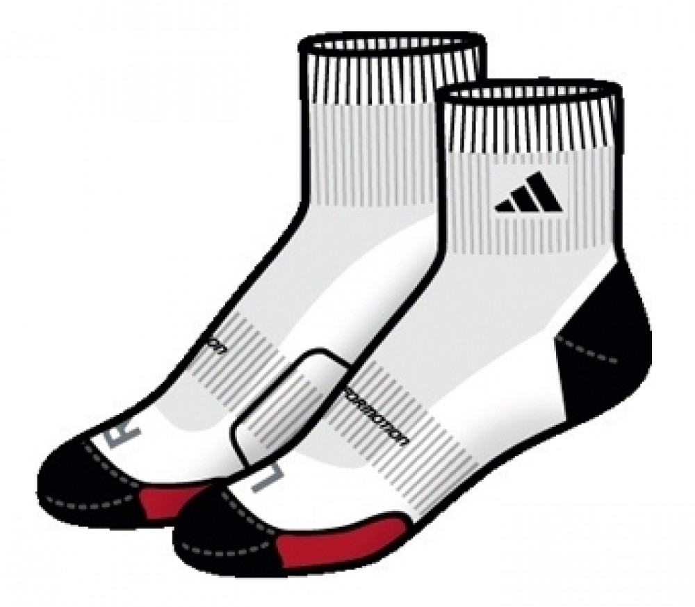 Adidas clipart sock shoe  buy SS11 Tennis Socks