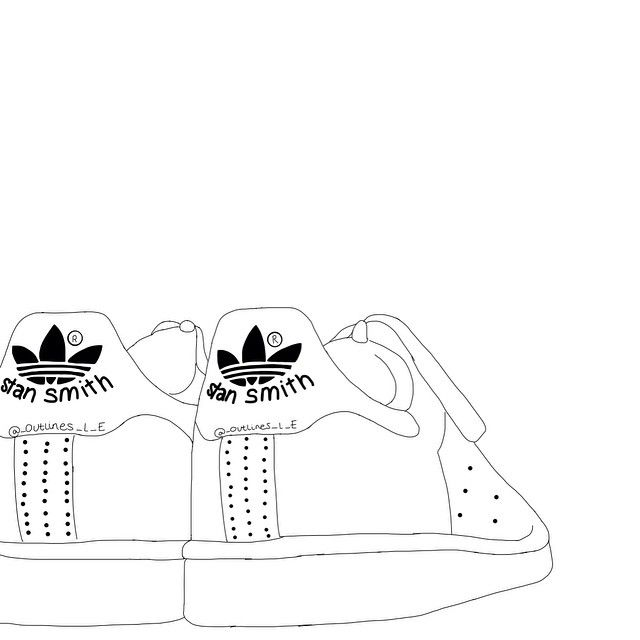 Adidas clipart tumblr adidas Shoes illustrations 287 images casual