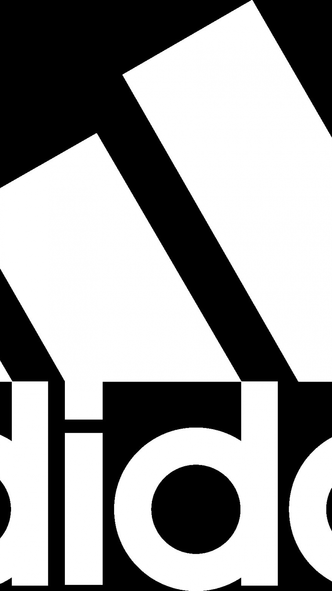 Adidas clipart word  Wallpaper Adidas white letters