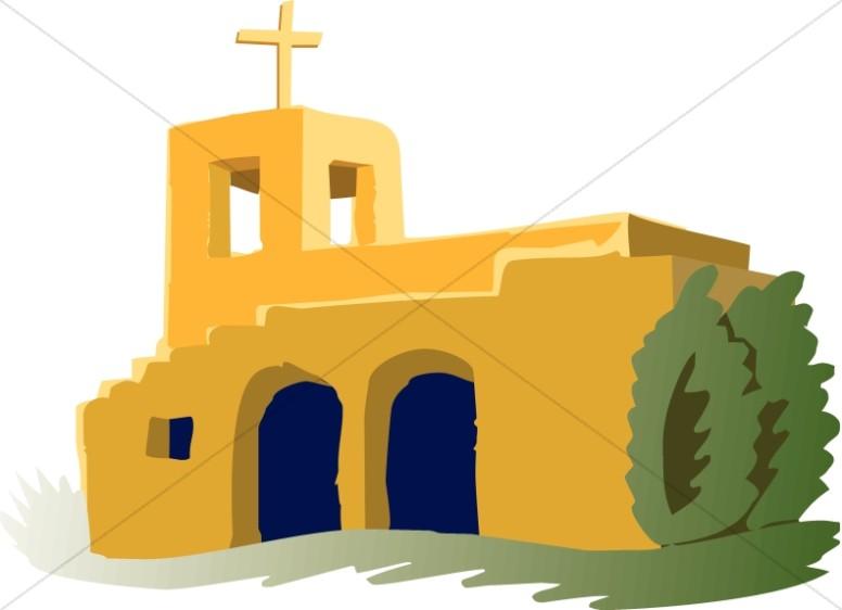 Adobe clipart Clipart Adobe Mission Adobe Church
