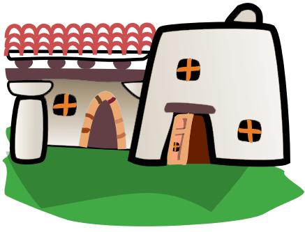 Adobe clipart /buildings/homes/homes_3/adobe_home adobe  html home