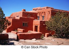 Adobe clipart Adobe House Houses Photo 902 1 Images