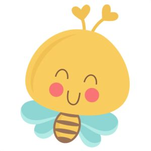 Bees clipart orange Cute Pinterest Cute 6 ideas