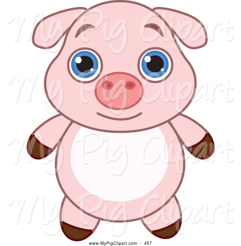 Adorable clipart Adorable of Big and Piglet