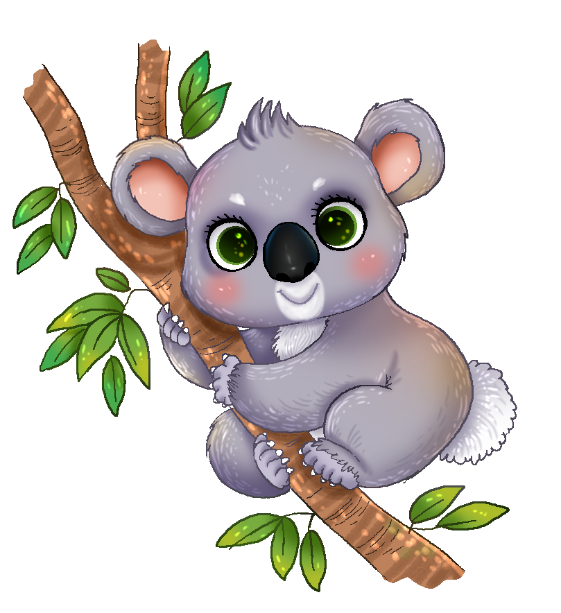 Cuddle clipart affection Clip Top Koala 85 7