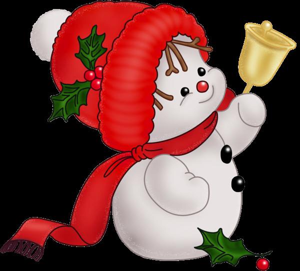 Adorable clipart christmas snowman Clipart Muñeco PNG lindo Clipart