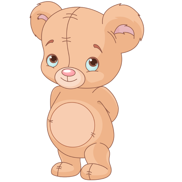 Adorable clipart toy bear Cute Cute image baby bear