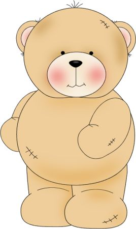 Adorable clipart toy bear Teddy on bear Pinterest best