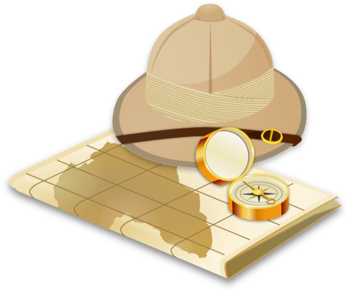 Safari clipart adventure #13
