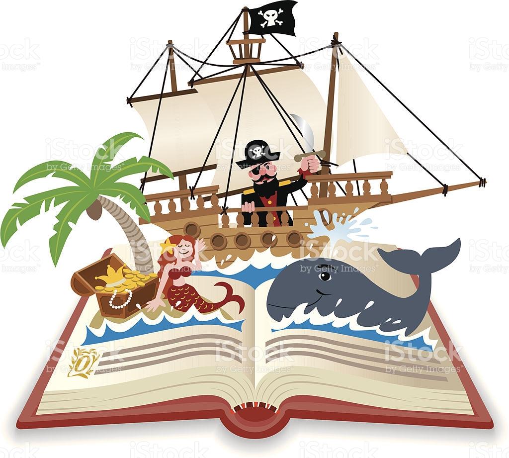 Adventure clipart adventure book Tale Book Stock Fairy Art