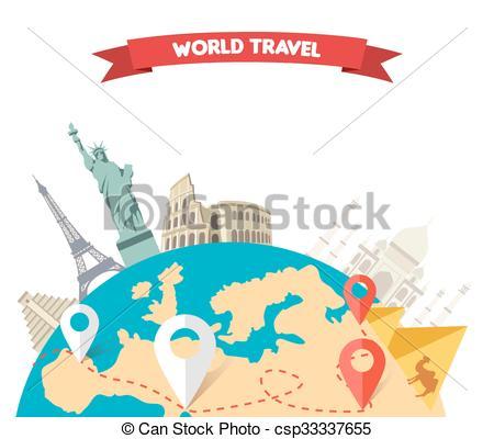 Adventure clipart adventure travel World World Travel adventure Clipart