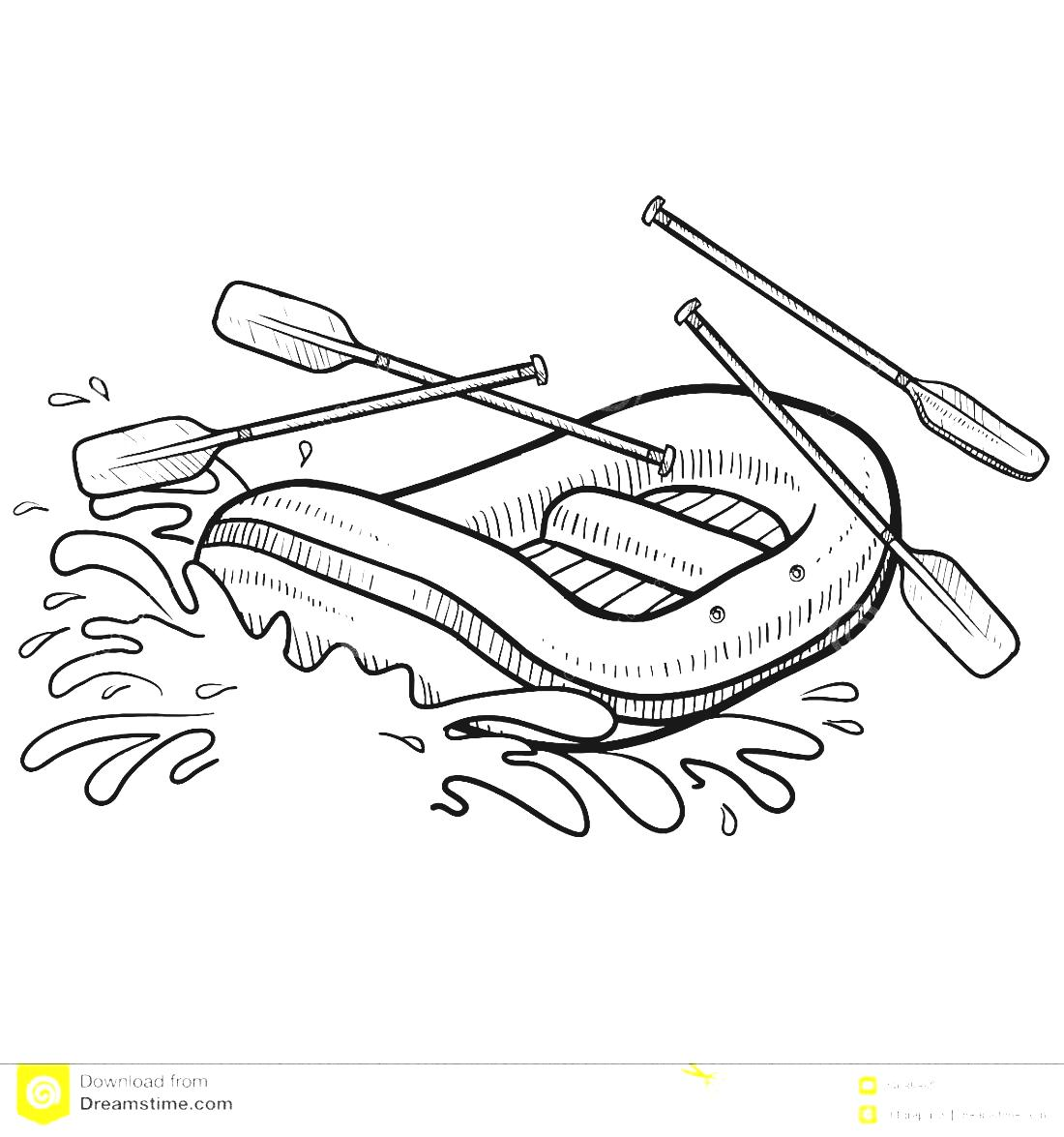 Adventure clipart black and white Adventure Clipart Rafting Rafting Clipart