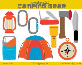 Adventure clipart camping equipment Art Clipart Gear adventure outdoors