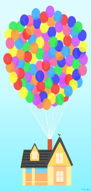 Adventure clipart disney up house Up pixar clipart up pixar