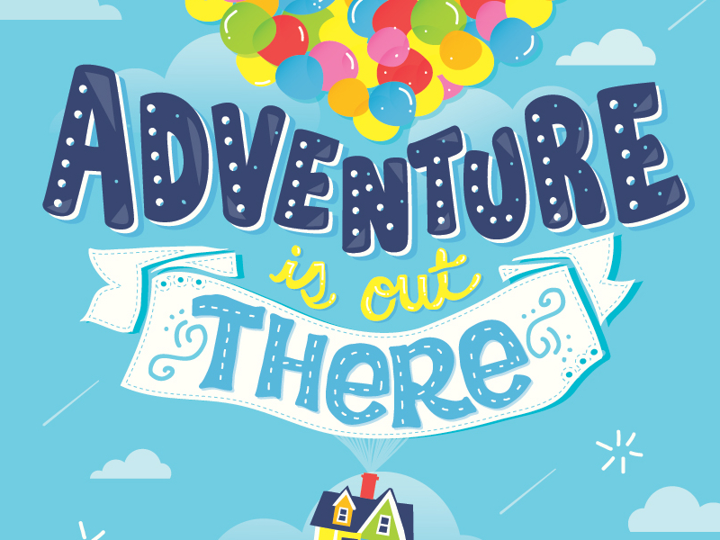 Adventure clipart disney up house Disney Risa Up Up