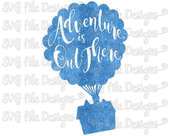 Adventure clipart disney up house Pinterest Adventure Disney SVGFileDesigns Up