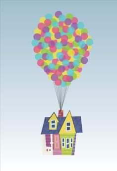 Adventure clipart disney up house Up! Up Find this Illustrations
