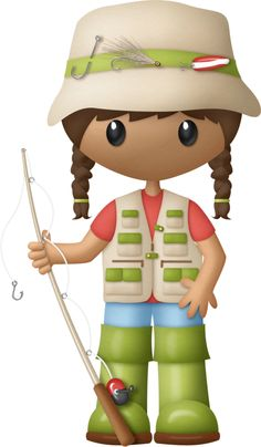 Adventure clipart family fishing Meninos on by ArtHikingNauticalCampingVacation PESCARIA