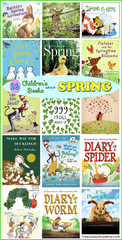 Adventure clipart spring activity Academy our Spring books Tree